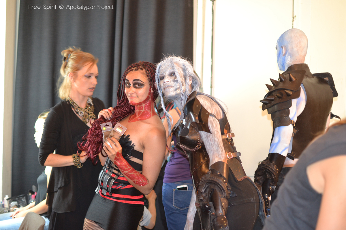 Cosplay marcheur blanc white walkers got game of throne free spirit armure en cuir Fraise au Loup danseuses