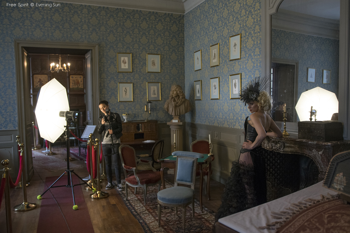 Chateau de Meung sur Loire shooting photo chapelle chapel Fraise au Loup Free spirit salon