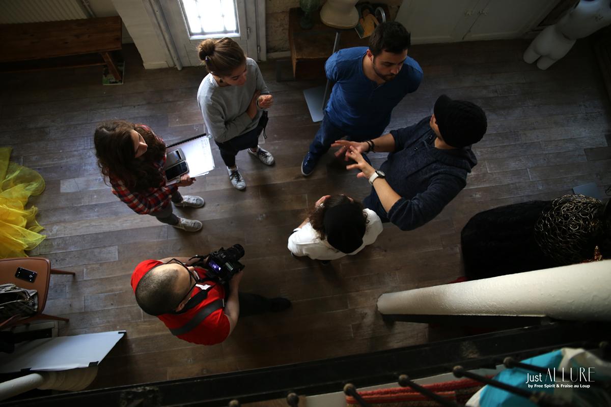équipe de tournage clip Free Spirit