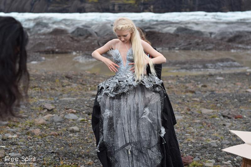 Shooting photo Islande