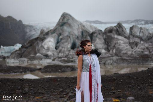 Shooting et tournage clip Islande avec le Free Spirit