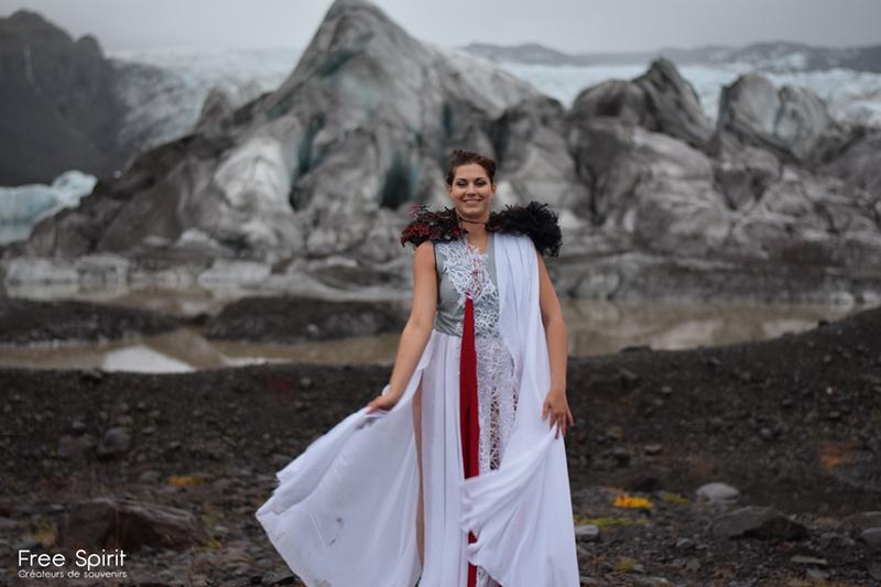 Danse glacier Islande free Spirit
