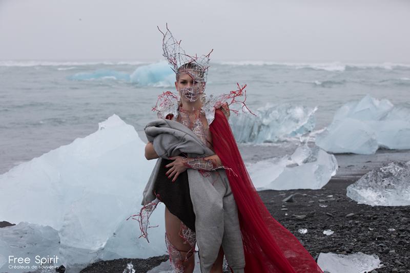 Islande Plage de diamants Free Spirit