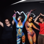 Body painting Paris Free Spirit