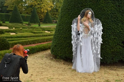 Free Spirit Fraise au Loup Just ALLURE Rebecca M Fotografie shooting photo photographie mode tapis rouge fashion avant garde